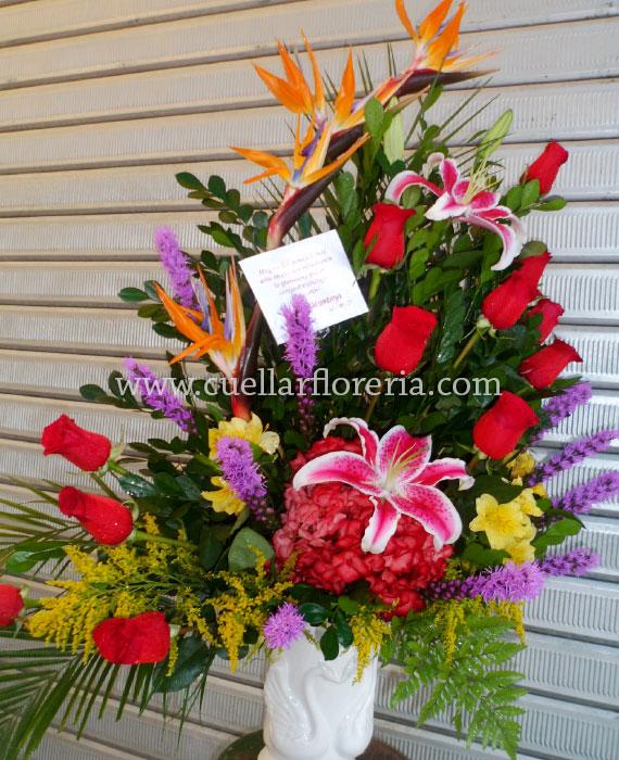 Arreglos Para Aniversario E Inauguración Florería Cuellar